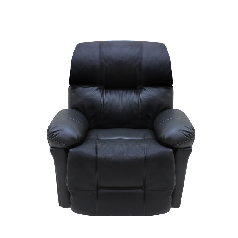 Rocker recliner chair Medium size-Leather  كرسي راحة هزاز وسط جلد